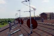 Antenne Tv e Sat cantiere di Verbania