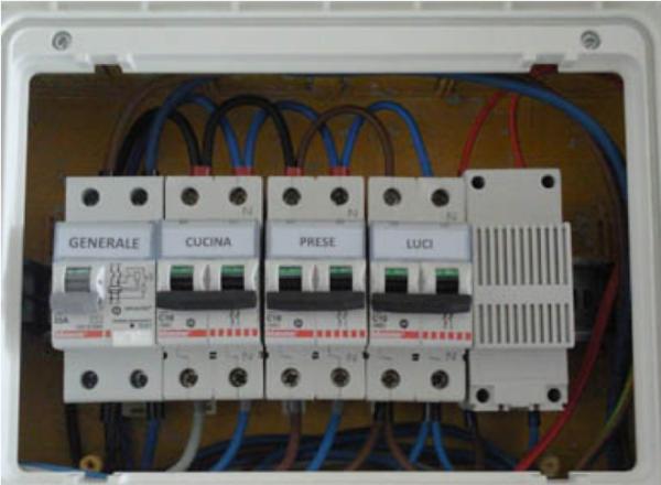 Schema Quadro Elettrico Per Appartamento : Quadro elettrico abitazione