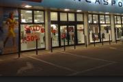 Impianto elettrico in negozio sportivo a Milano