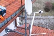Preparazione installazione parabole