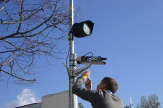 Telecamere con illuminatori a led separati