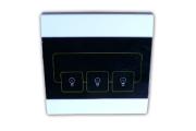 """Il prodotto permette di chiudere 3 contatti normalmente aperti ed ha 3 codici abbinabili alla serie """"ELEDEF"""" per funzionare con le centraline 868. Funziona a 220vAC"""
