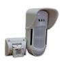 Radar per esterni. Frequenza 868 Mhz  •Compatibile con DEFENDER ST-V e ST-6  •lunga portata wireless tra sensore e centrale •batteria interna 7,4V 1000mAh ed alimentazione via cavo, la batteria funge da tampone su mancanza corrente •Corrente di utilizzo da 9V a 15V •Temperatura di utilizzo da -10 a 50° •Durata batterie circa 1 mese, è consigliata l'alimentazione o un pannello solare  •Segnalatore batteria bassa •Doppia tecnologia MW e motion •Sensore anti oscuramente e anti abbagliamento •Pet immune fino 70cm (30Kg) •Altezzezza di installazione da 1,8 a 2,0 metri (sulla base della lente scelta) •Tamper anti effrazione •Connessione anche via cavo (Tamper, allarme ed alimentazione) •Rilevamento distanza circa 9/12/18 metri (sulla base della lente) •Peso: 588 gr. •3 lenti intercambiabili per regolare la profondità e il raggio d'azione •Lente solitamente montata dalla fabbrica: RL300F (Pet immune 15m 90°)